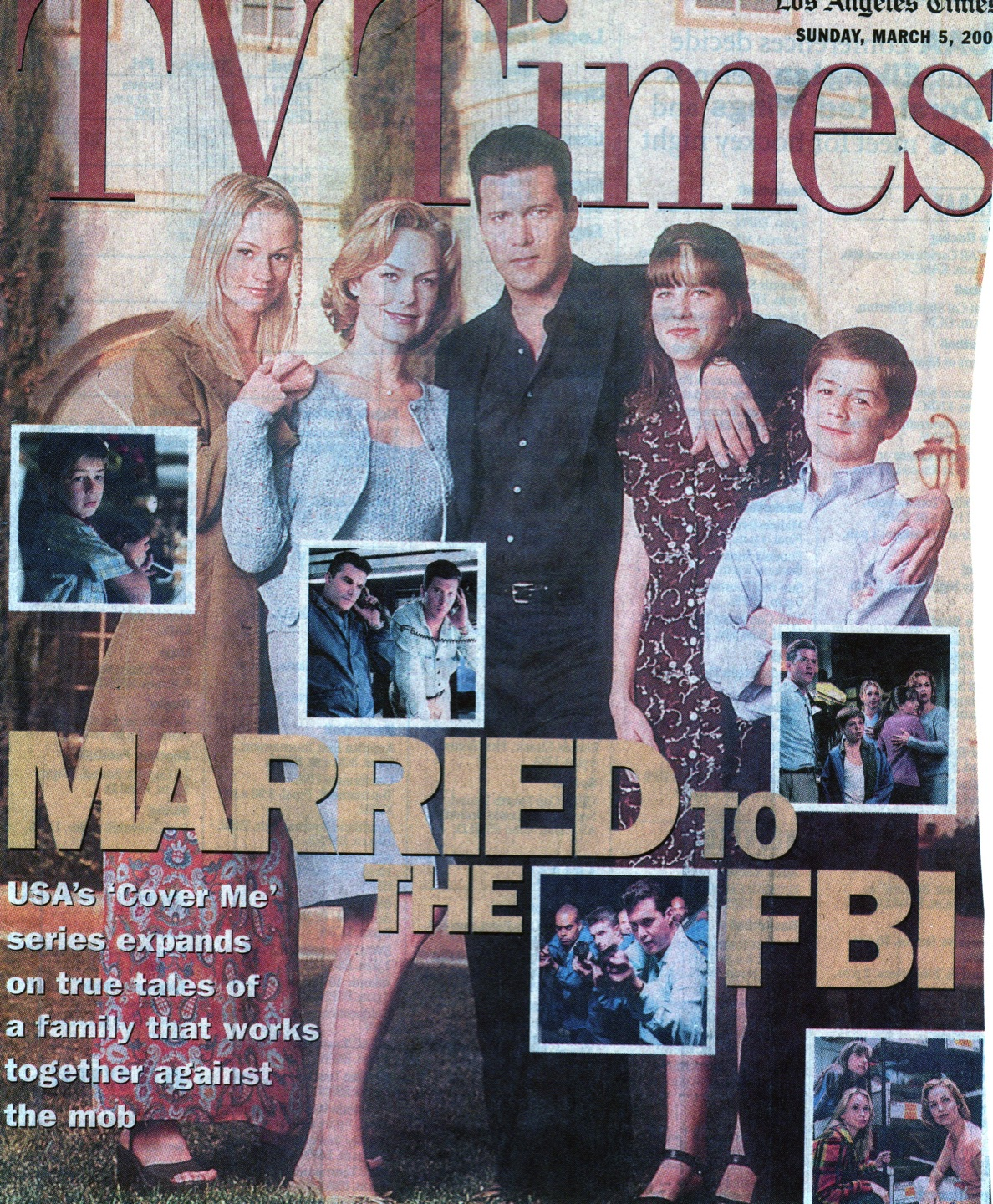 TV series debut was the highest-rated series premiere for USA Network. Cover Me: Based on the True Life of an FBI Family. Inspired by Laura's Family Life Story. She served and was credited as Executive Consultant. The series can be viewed via IMDb and/or Hulu Plus.